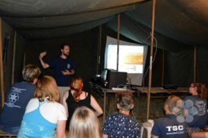 Előadás a táborban (Photo: Szekula Veronika)