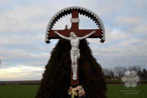 Kereszt a Becsei út mentén (Photo: Sihelnik József)